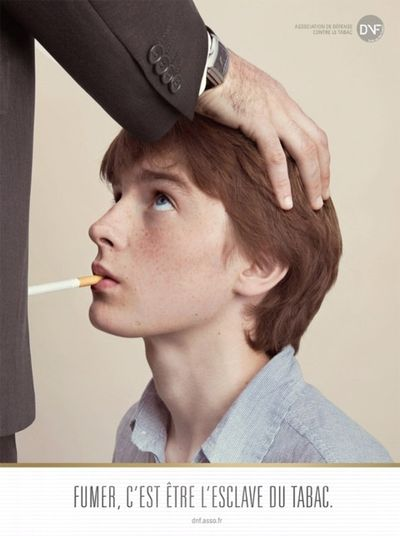 Uproar Over French Anti-Smoking  Oral Sex Campaign - Band -7643