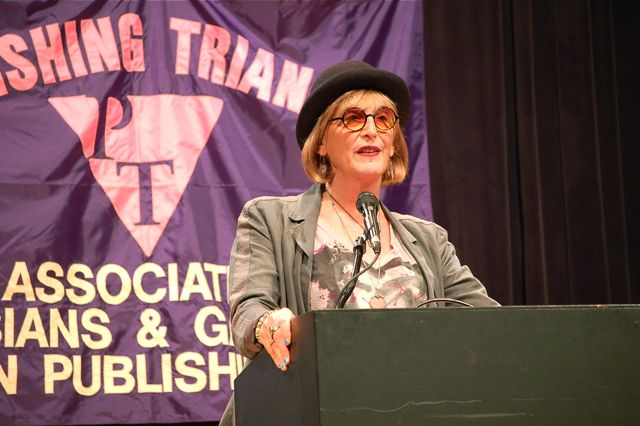 Kate Bornstein at the 2011 Triangle Awards